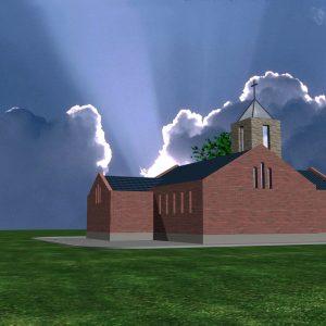 kościółek wiejski